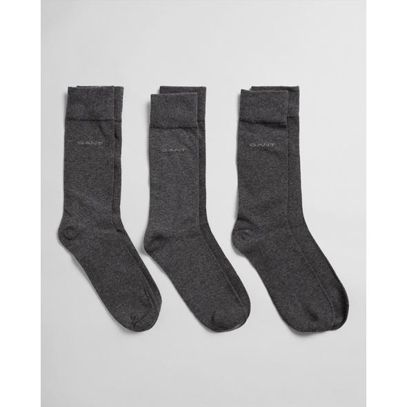 3er-Pack Weiche Baumwollsocken