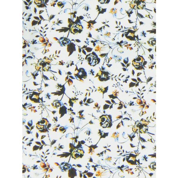 Langarm-Hemd mit floralem Print