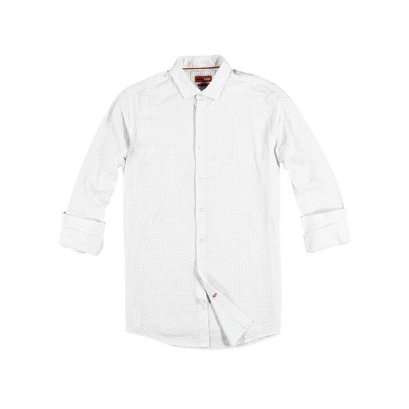Jersey-Hemd mit T-Shirt Feeling