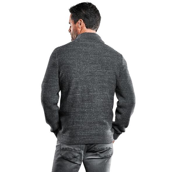 Pullover Polokragen