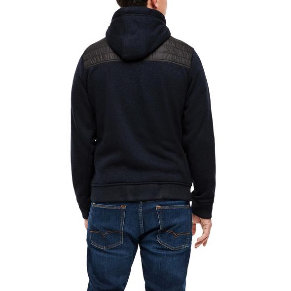 Melierte Jacke im Fabricmix - Fabricmix-Jacke