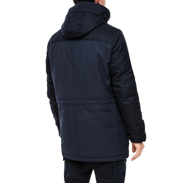 Wattierte Jacke im Fabric Mix - Jacke