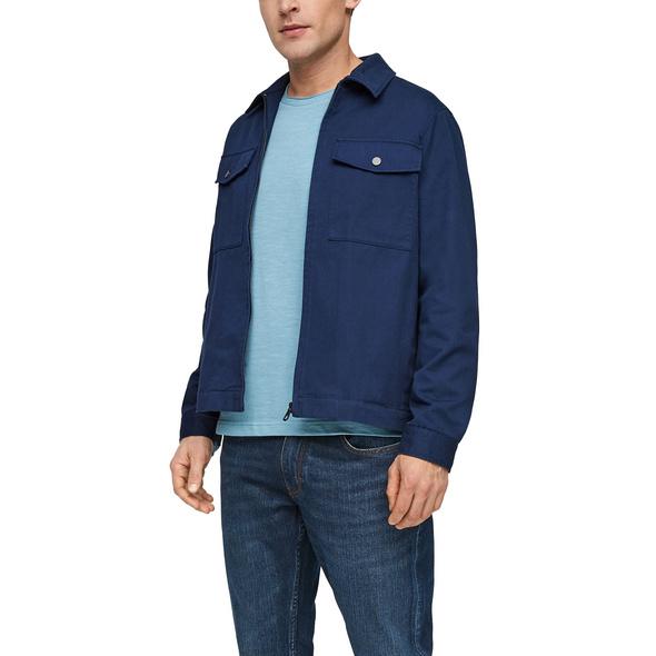 Twilljacke mit Brusttaschen - Jacke