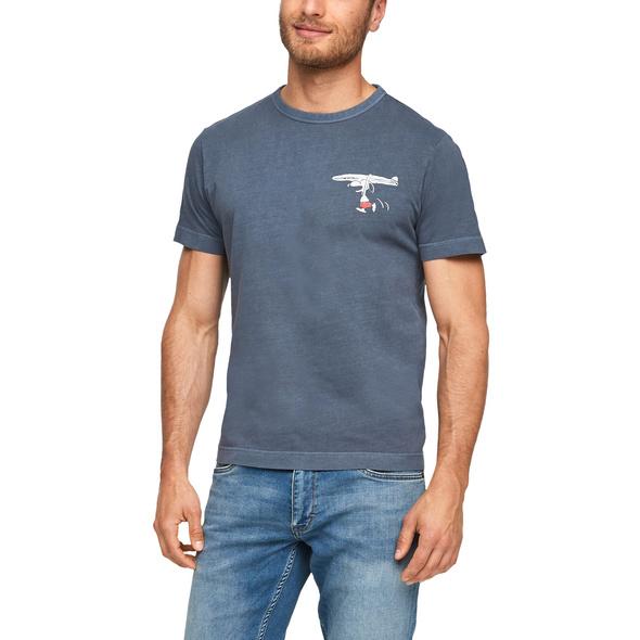 Jerseyshirt mit Peanuts-Motiv - T-Shirt