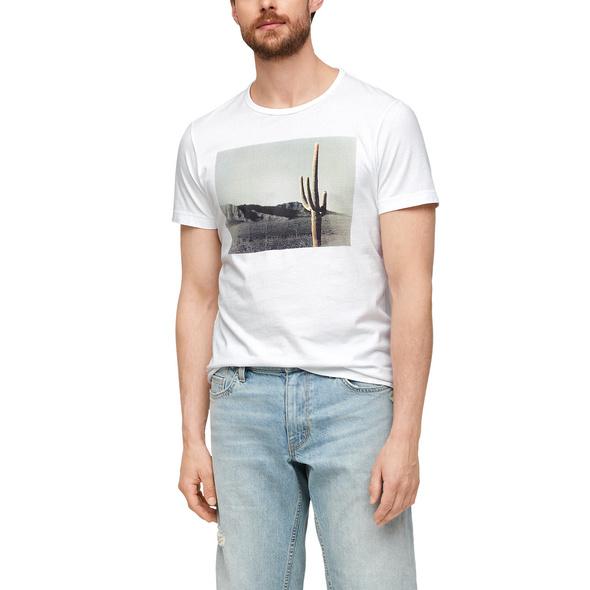 Jerseyshirt mit Fotoprint - T-Shirt