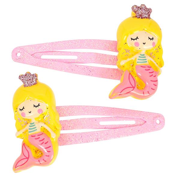 Kinder Haarspangen-Set - Yellow Mermaids