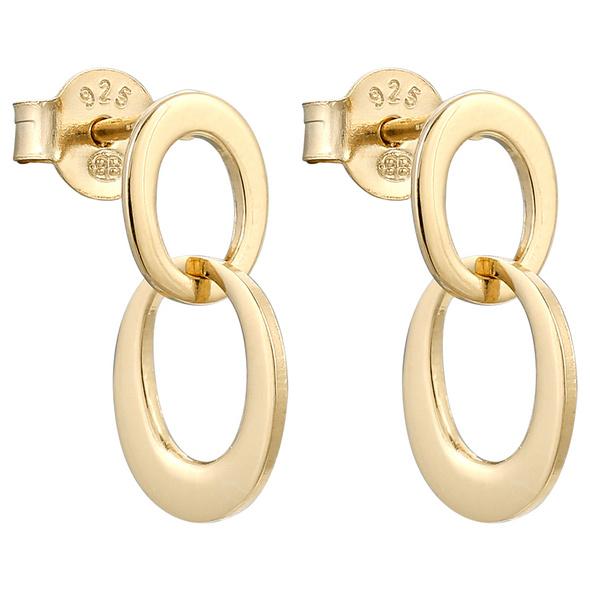 Ohrstecker - Gold Loop