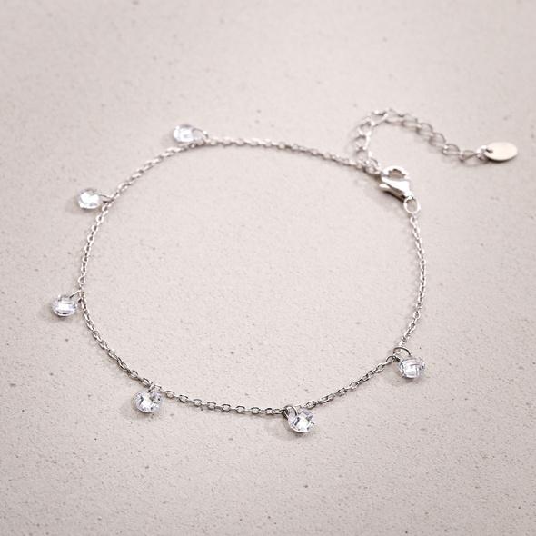 Armband - Silver Drops
