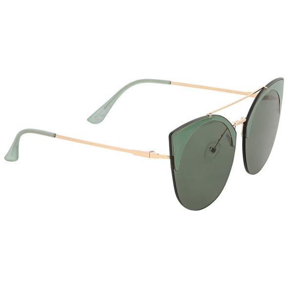 Sonnenbrille - Green Cat Eye