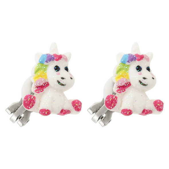 Kinder Ohrclips - Funny Unicorn