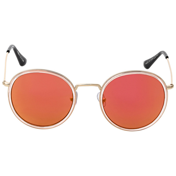 Sonnenbrille - Mirrored Pink
