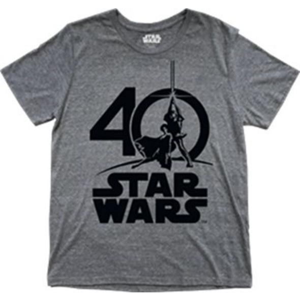 Star Wars - T-Shirt Logo 40th Anniversary