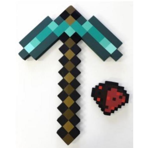 Minecraft - Adventure Kit (Diamond Pickaxe & Redstone Dust)
