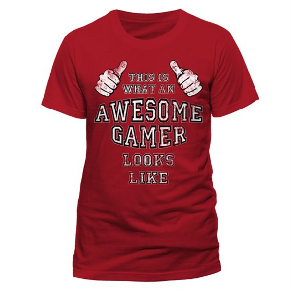 CID Originals - T-Shirt Awesome Gamer (Größe S)