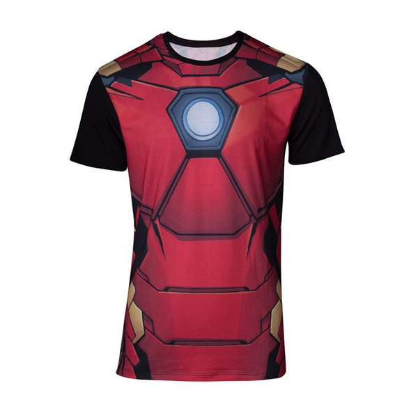 Marvel Iron Man - T-Shirt Suit (Größe XXL)