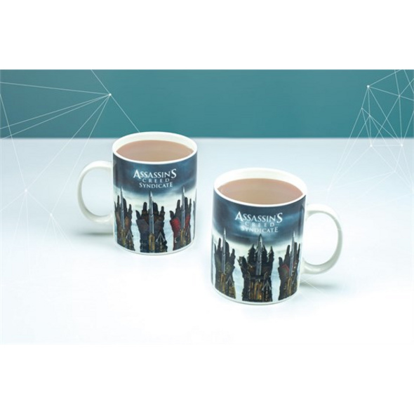 Assassin's Creed Syndicate - Thermo-Effekt Tasse