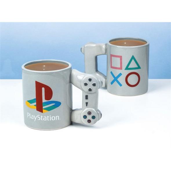 PlayStation - Tasse Controller Grau