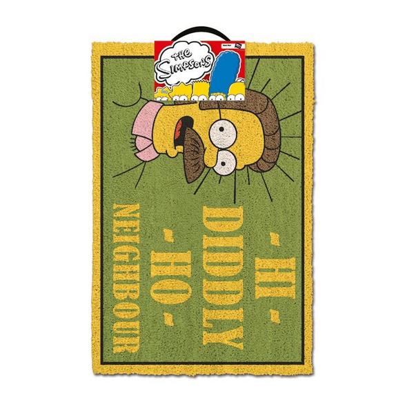 Die Simpsons - Schmutzmatte Hi Diddly Ho Neighbour