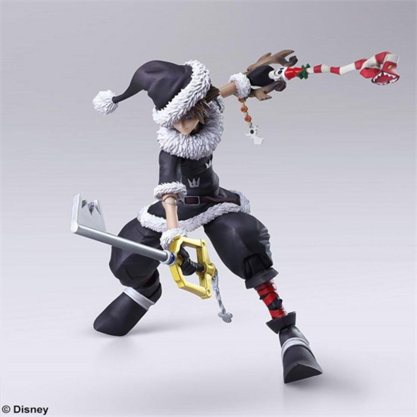 Kingdom Hearts II Figur Sora Christmas Town