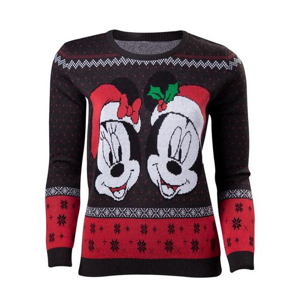 Mickey Mouse - Pullover Xmas (Größe L)