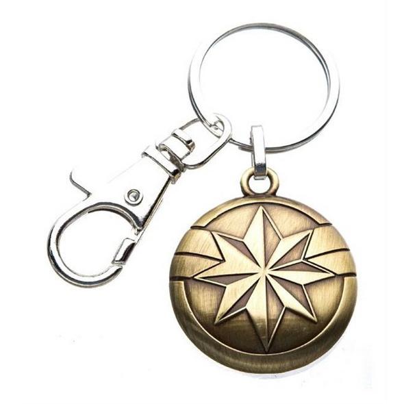 Captain Marvel - Schlüsselanhänger Logo