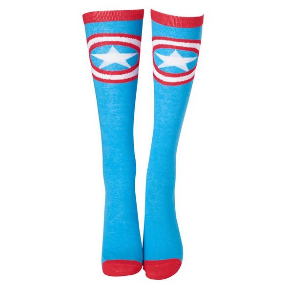 Marvel Captain America - Socken Schild Logo