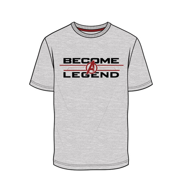 Marvel Avengers - T-Shirt Become Legend (Größe M)