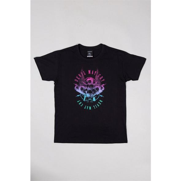 Devil May Cry 5 - T-Shirt Skulls & Roses & Guns (Größe M)