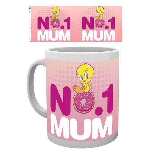 Looney Tunes - Tasse Mum Number One