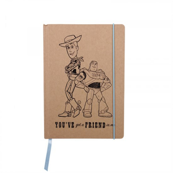 Toy Story - Notizbuch Woody & Buzz (You've got a Friend in me)
