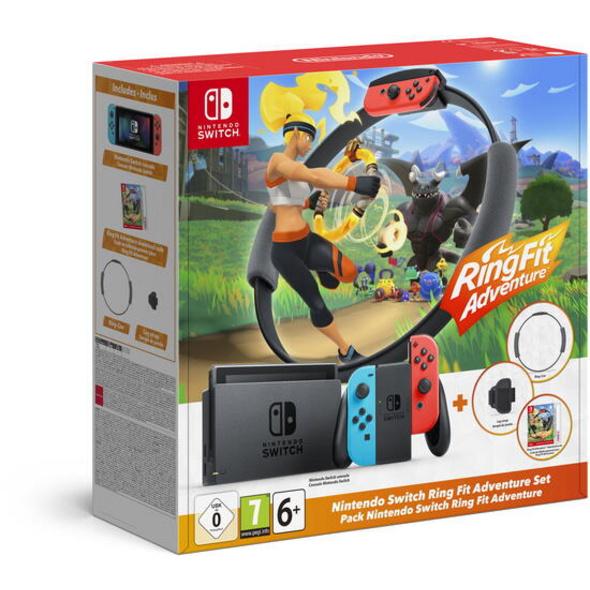 Nintendo Switch Konsole inkl. Ring Fit Adventure