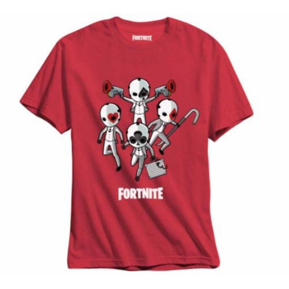 Fortnite - T-Shirt Kids High Stakes (Größe 140)