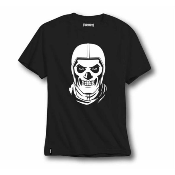Fortnite - T-Shirt Kids Skull Trooper (Größe 140)