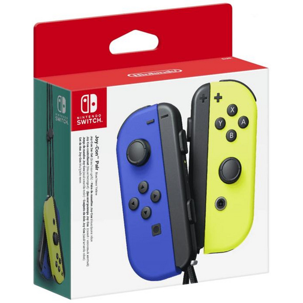 Nintendo Switch Joy-Con Controller Set blau / gelb
