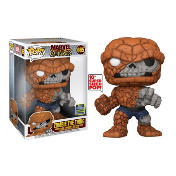 Marvel - POP!- Vinyl Figur Zombie The Thing