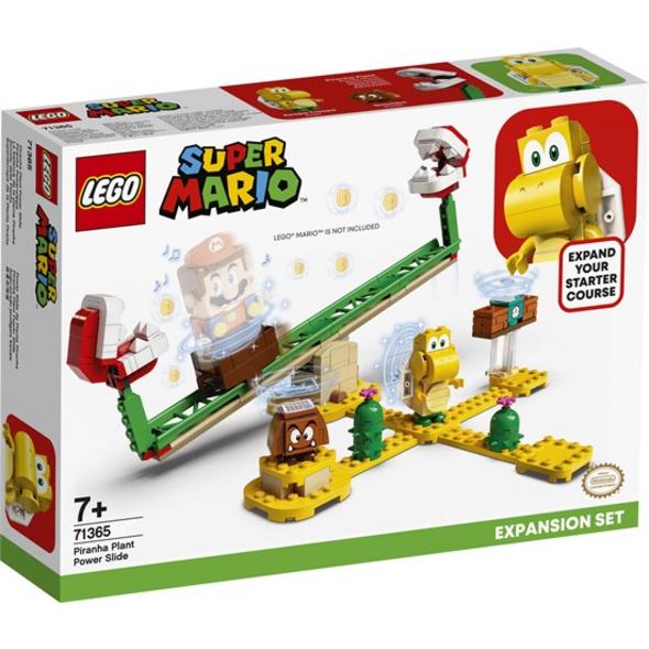 LEGO® Super Mario Piranha-Pflanze-Powerwippe – Erweiterungsset - 71365