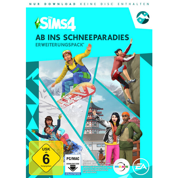 Die Sims 4 Ab Ins Schneeparadies Erweiterungspack