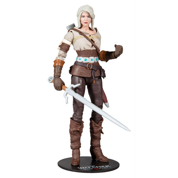 The Witcher 3: Wild Hunt - Actionfigur Ciri