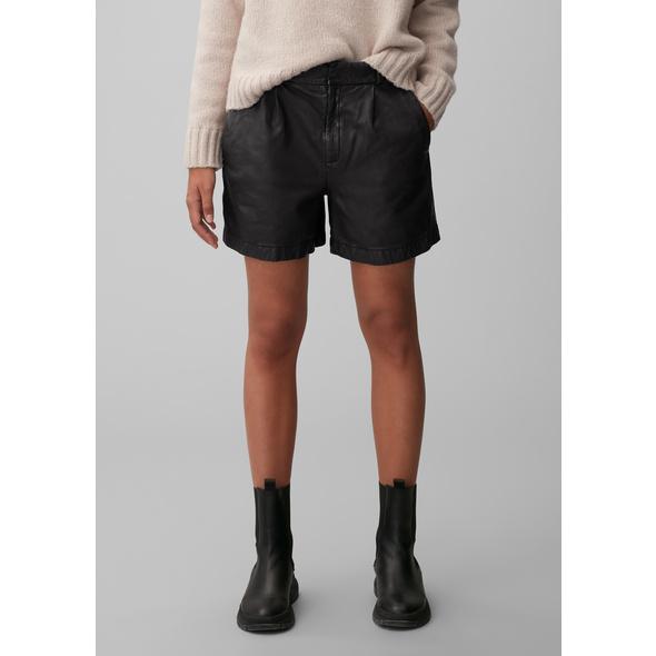 Leder-Shorts