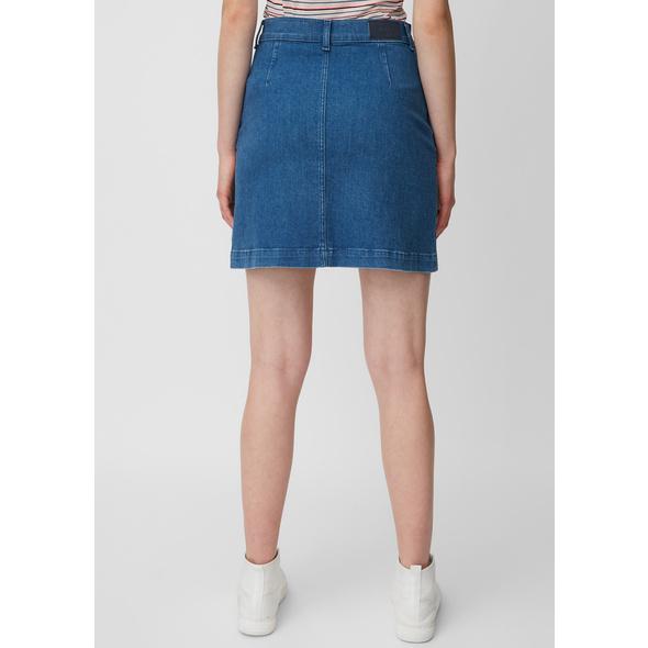 Jeans-Minirock