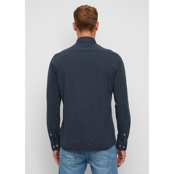Langarm-Jerseyhemd
