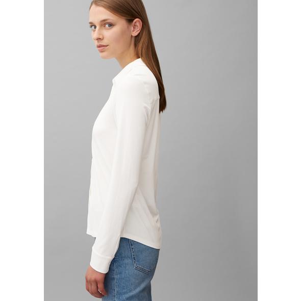 Jersey-Bluse