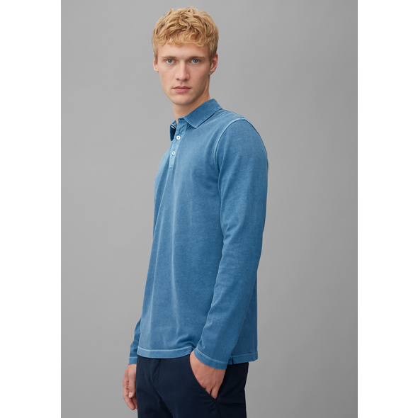 Langarm-Poloshirt regular