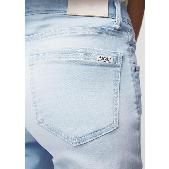 Jeans Modell ALVA slim mid waist cropped