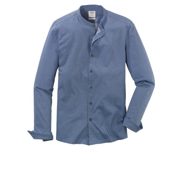 OLYMP Level Five Smart Casual Hemd, body fit, Stehkragen