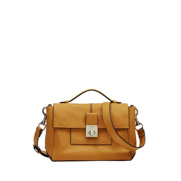 kleine Handtasche im 70er Jahre Look - Helen Satchel S