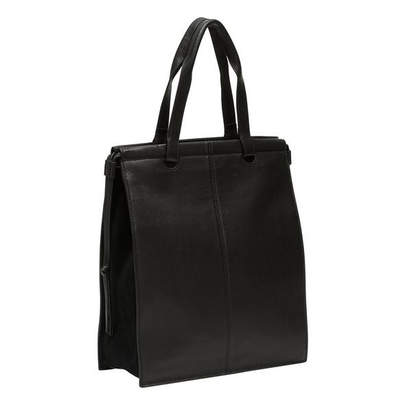 Tote Bag aus Leder im DIN-Format - Jill Tote L