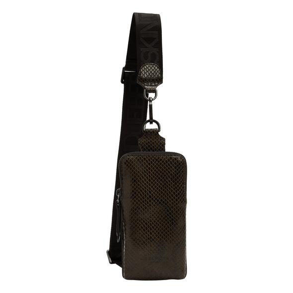 Mini Crossbody Bag mit Schlangenmuster - Snake Sling Bag
