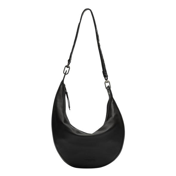 Halbmond Tasche mit asymmetrischer Form - Hannah Hobo M