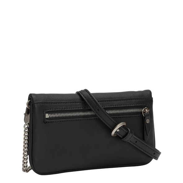 Mini-Clutch aus Leder - Aloe XS